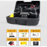 12V车载充气泵双缸高压便携式轿车轮胎汽车用打气泵筒电动