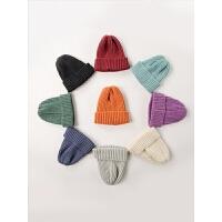 婴儿帽子秋冬季男宝宝毛线帽儿童帽女童帽婴儿针织帽婴幼儿男童帽