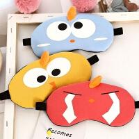 眼罩睡眠遮光透气可爱韩国缓解眼儿童卡通学生男女士护眼罩