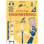 Lift-the-Flap:Engineering 工程学 儿童翻翻书 英文原版 3-6岁低幼儿童英语纸板翻翻书