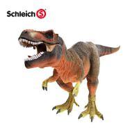 德国schleich思乐 红色霸王龙72068 恐龙仿真动物模型 儿童玩具
