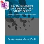 【中商海外直订】2015 Revision of Cset Math II: Geometry; Probabilit