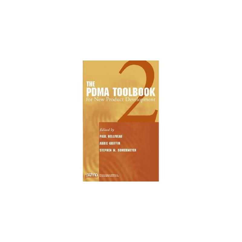 【预订】The PDMA Toolbook 2 for New Product Development 美国库房发货,通常付款后3-5周到货!