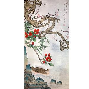 山东菏泽人,中国牡丹书画研究院院长吴绍正(岁寒奇香)38