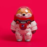 AK太空奇遇记盲盒柴犬动物土拨鼠宇航员猫狐尾玩具 单只盲盒(整盒请拍10件) 狐尾玩具太空奇遇拆盒不退不换