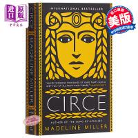 【中商原版】喀耳刻 英文原版 奇幻小说 Circe Madeline Miller 玛德琳米勒 英国柑橘文学奖得主畅销