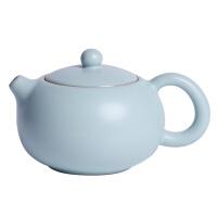 手工汝�G西施�亻_片冰裂釉茶�匦√�可�B��靥烨嗌�陶瓷茶具泡茶��