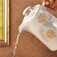 景德镇陶瓷凉水壶瓷器泡茶壶大容量耐热耐高温家用茶壶夏季 图片色