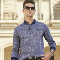 长袖t恤polo衫男士棉经典保罗衫纯色翻领体恤2019新款上衣
