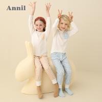 【直降价:166】安奈儿童装男女童家居服套装2020春季新款儿童休闲家居服两件套
