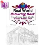 【中商海外直订】Real World Colouring Books Series 94