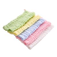 婴儿口水巾棉纱布宝宝洗脸巾喂奶小方巾毛巾围嘴手帕