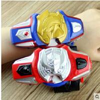 银河奥特曼迪迦 泰罗 戴拿变身器 发光发声召唤器 手环 儿童玩具