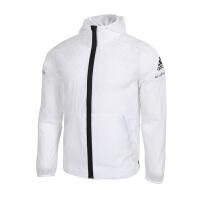 Adidas阿迪达斯 男装 运动休闲防风衣连帽夹克外套 FI8758