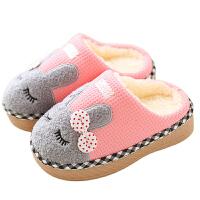 儿童棉鞋冬季家居保暖女孩室内居家亲子棉拖鞋