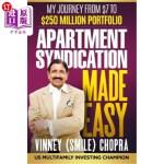 【中商海外直订】Apartment Syndication Made Easy: A Step by Step Gui