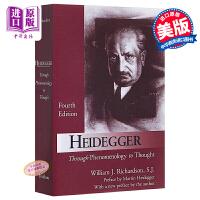【中商原版】海德格尔:从现象学到思想 英文原版 Heidegger William J. Richardson For