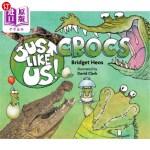 【中商海外直订】Just Like Us! Crocs
