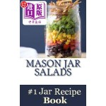 【中商海外直订】Mason Jar Salads: Best Tasting Mason Jar Salads, Me