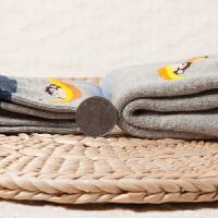 儿童袜子纯棉男童女童保暖毛圈宝宝地板袜1-3-5-7-9岁冬