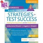 【中商海外直订】Saunders 2020-2021 Strategies for Test Success: Pas
