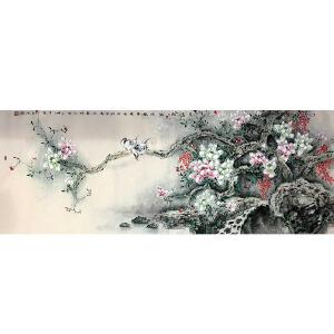 广西人,年轻的职业工笔画画家韦燕芳,字清禾(工笔)23
