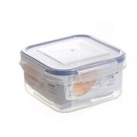 350ML小号正方形保鲜盒 密封盒 食品留样盒 零食盒ALG-2519 透明