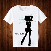 电磁炮T恤御坂美琴炮姐动漫短袖T恤周边服装二次元衣服 1 S