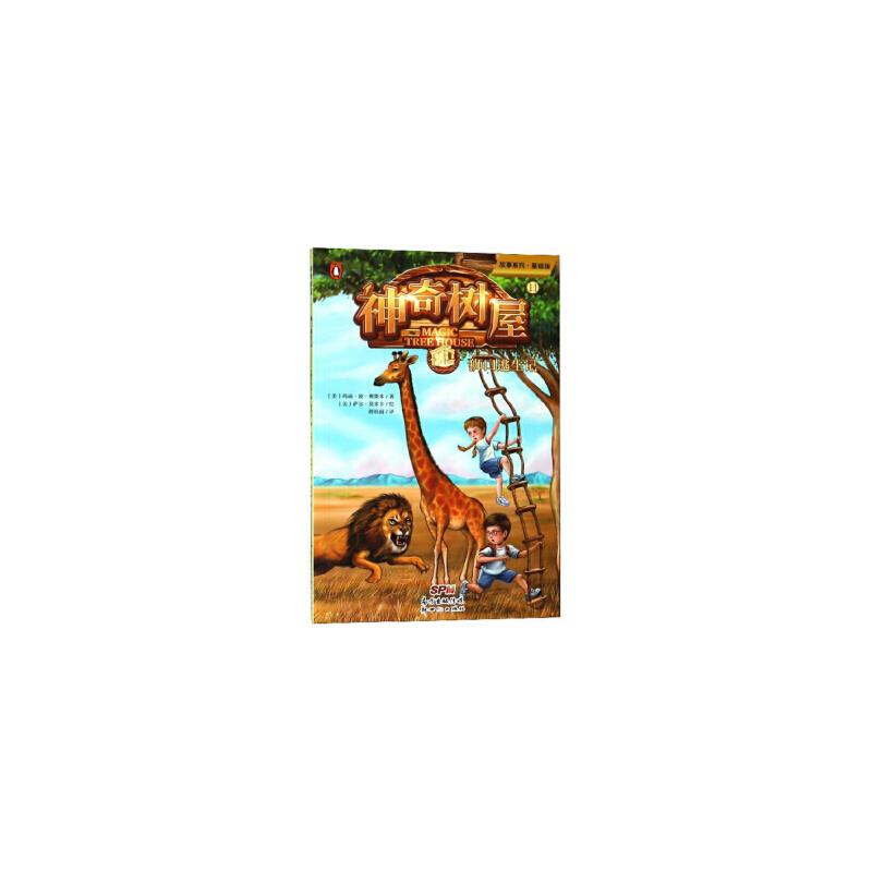 神奇树屋11:狮口逃生记/故事系列 基础版 [美] 玛丽·波·奥斯本,[美] 萨尔·莫多卡 绘,舒杭丽 新世纪出版社 【正版图书,闪电发货】