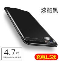 �O果6背�A充���iPhone7�S�7p�池8便�y式6s手�C�て�plus移�与�源六6大容量