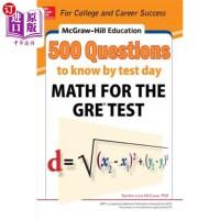 【中商海外直订】McGraw-Hill Education 500 Questions to Know by Test