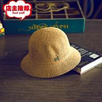 2019新款太阳帽韩版可调节可爱女士M字母圆顶礼帽厂家现货供应