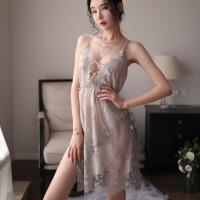 情趣内衣小胸透明性感睡衣挑逗诱惑超骚血滴子激情套装吊带睡裙女