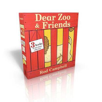【预订】Dear Zoo & Friends: Dear Zoo; Farm Animals; Dinosaurs 预订商品,需要1-3个月发货,非质量问题不接受退换货。