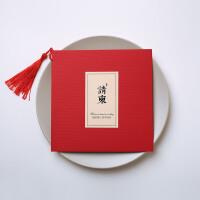 中式复古喜贴 结婚请帖请柬婚庆用品婚礼请贴创意中国风定制打印