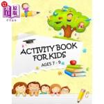 【中商海外直订】Activity Book for Kids Ages 7 - 9