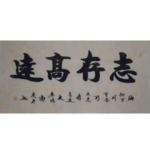 中国书协会员,河南书协会员晏志方44【志存高远】