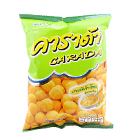 [当当自营] 泰国进口 卡啦哒 Carada 加油啦玉米味米球(膨化食品)15g