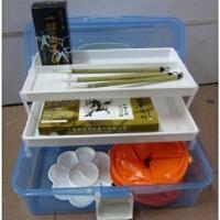 马利12色国画颜料套装 套装毛笔+墨汁+宣纸等19件套工具 适用于初学者