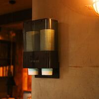 一次性杯子架自动取杯器饮水机放纸杯塑料杯架的水杯免打孔置物架