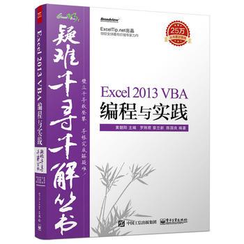 【旧书二手书9成新】 疑难千寻千解丛书Excel 2013 VBA编程与实践 9787121263965 电子工业出版社正版二手九成新哦 里面全新