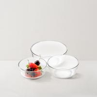 网易严选 泰国制造 玻璃沙拉碗