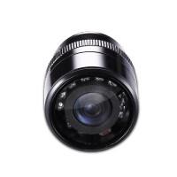 汽车倒车摄像头车载通用打孔25/28mm高清夜视ccd防水后视影像红外
