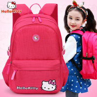 hello kitty小学生书包女生女童1-3-4-6年级凯蒂猫儿童书包6-12岁