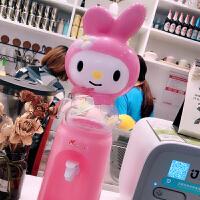 迷你饮水机台式小型桶可加热卡通kt 可爱卡通猫学生小型桌面家用宿舍餐厅8杯水迷你饮水机