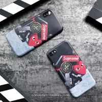 苹果x手机壳新款8个性汇欧美潮男7超薄软壳全包防摔6套6splus iphone X