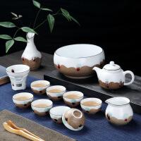 茶具套装家用简约景德镇陶瓷功夫茶杯茶壶办公室高档礼盒装送人 图片色