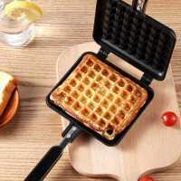 寸年蛋糕模具家用华夫饼模具不粘糕点烤盘diy烘焙工具套装格子松饼机