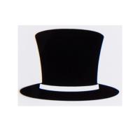 宝马mini cooper车贴可爱创意小皇冠耳朵礼帽小贴纸随意装饰贴纸