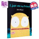 【中商原版】Heidi McKinnon:我把朋友吃掉了 I Just Ate My Friend 绘本故事 低幼童书